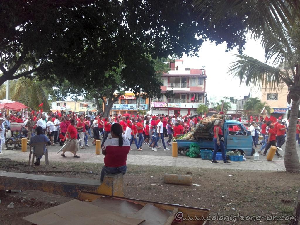 Procession to the Faro a Colón on Corpus Christi Day