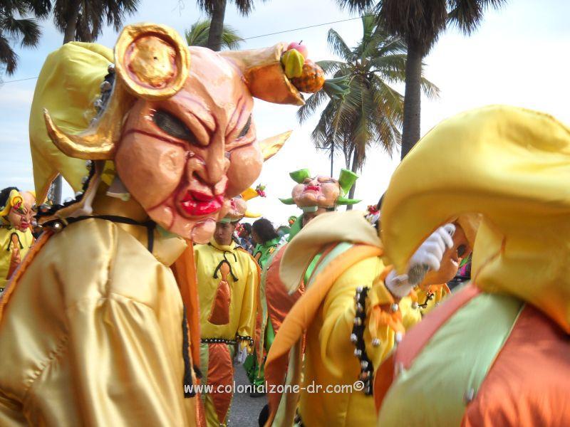 Carnaval - The swollen-lip El Jinchaíto de Moca