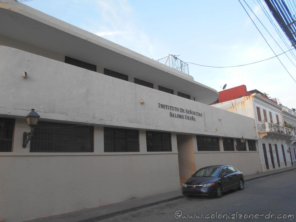 The Instituto de Señoritas Salome Ureña present day located on Calle 19 de Marzo in the Colonial Zone.