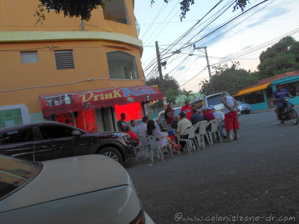 A Domino Club in Los Molinos, Santo Domingo Este. This is some serious playing.