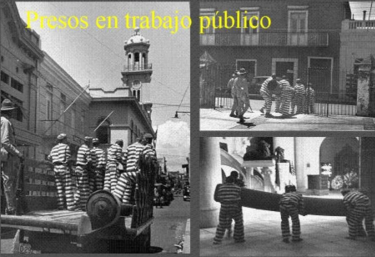 Trujillo used prisoners to help rebuild Ciudad Trujillo.