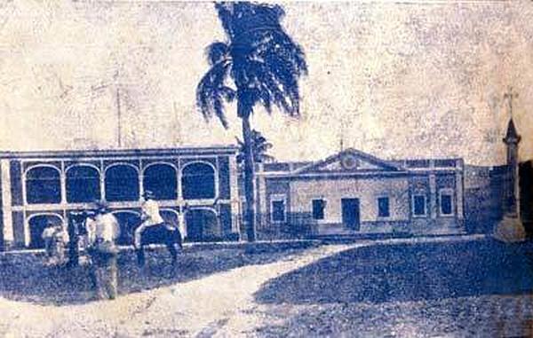 Palacio de Borgellá y Cárcel Real CIRCA 1890