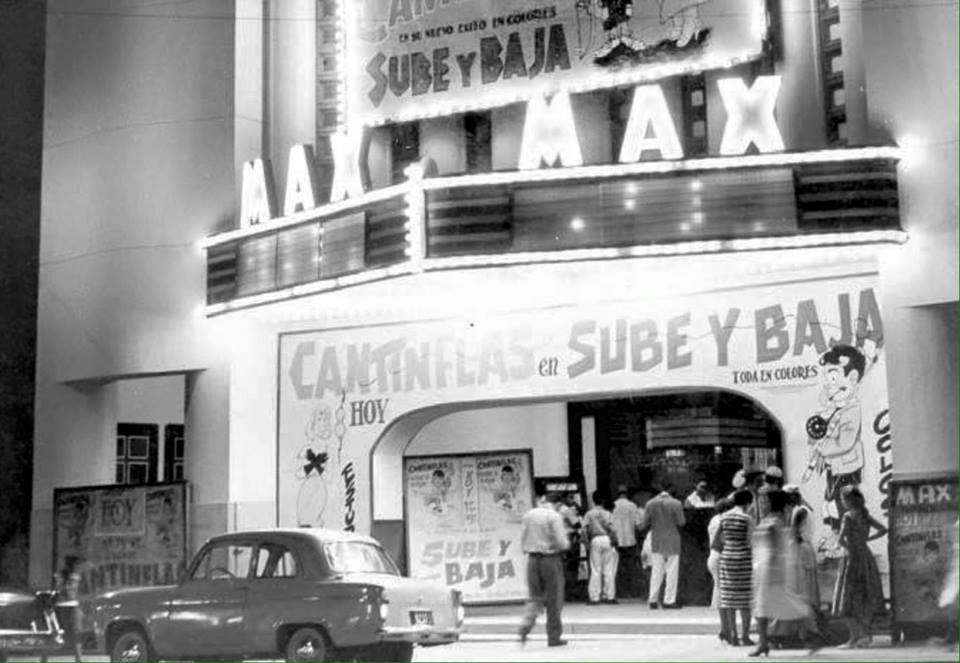 Cine Max on Av. Duarte in Santo Domingo 1959.