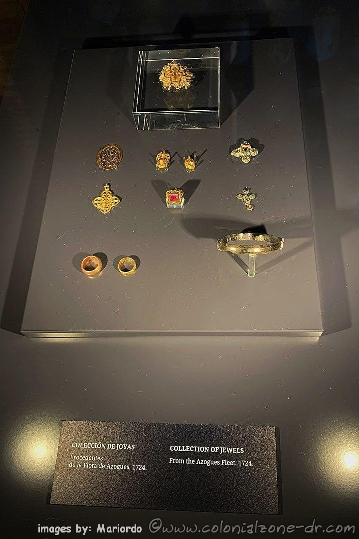 Jewels rescued from shipwrecks at Atarazanas Reales Museum