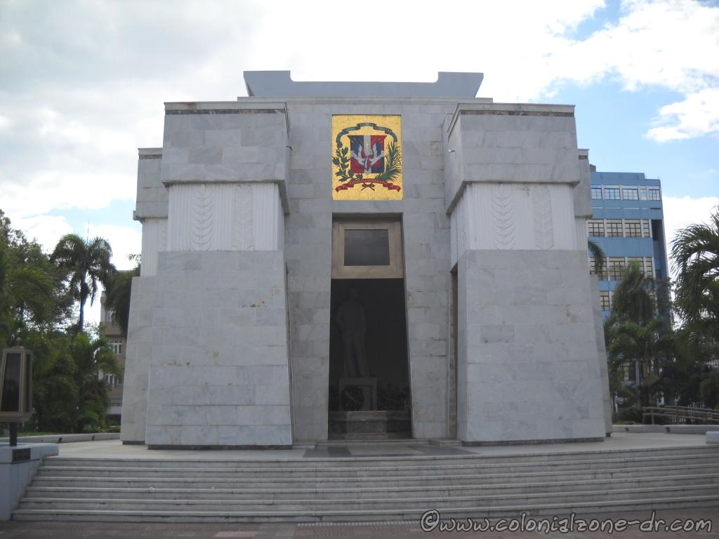 The Altar de la Patria also known as Tumba de los Padres de la Patria / Tomb of the Patriarchs located in Parque Independencia
