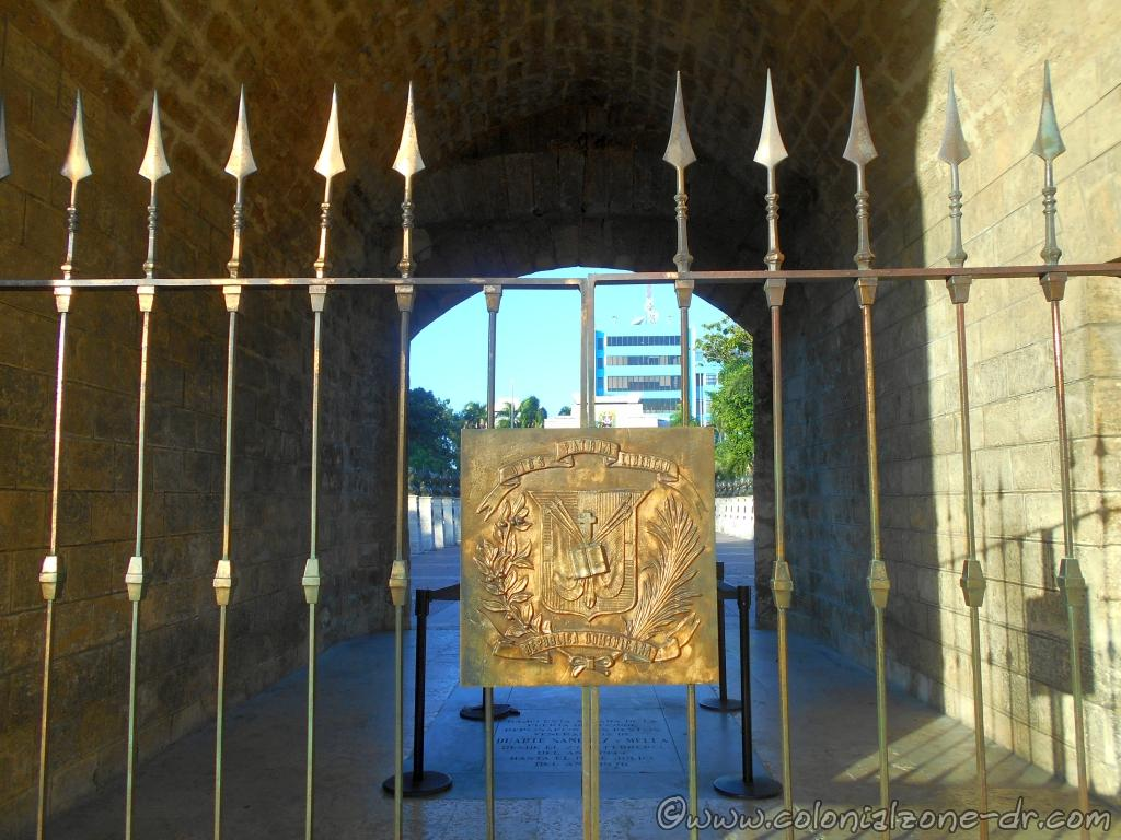 The Puerta del Conde with the Escudo Nacional Dominicano / National Shield of Dominican Republic
