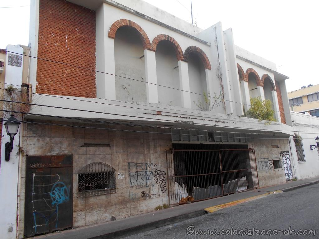 The old Cine Leonor on Calle Arzobispo Nouel at 19 de Marzo, Ciudad Colonial, Santo Domingo.